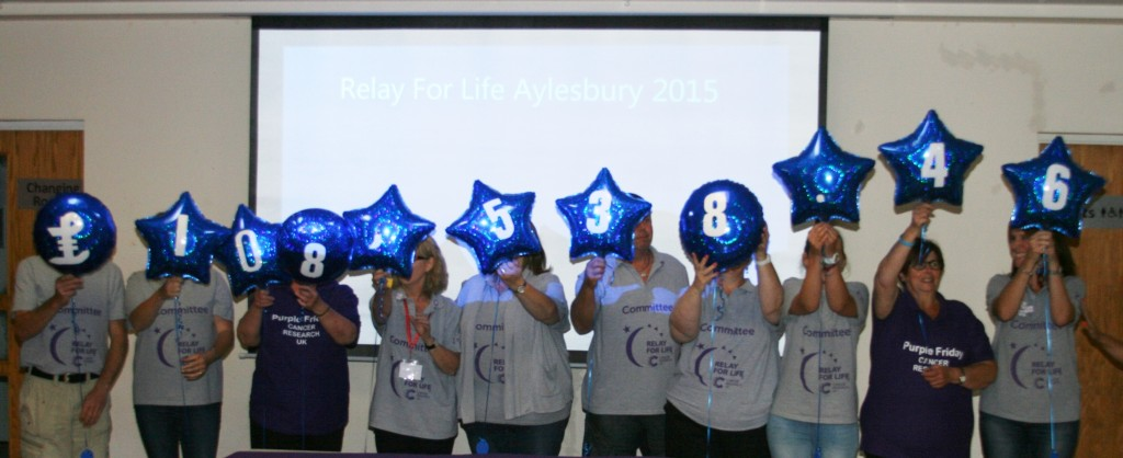 RELAY FOR LIFE AYLESBURY BREAKS £100,000 BARRIER - AGAIN!! 6