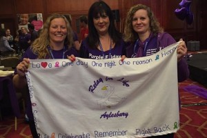 Paula Kirby, Lucie de Zenobia and Lisa Slater at Relay Summit