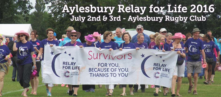 Relay for Life Aylesbury 2016 opens for business! 1